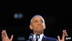 Барак Обама, переизбранный президент США.