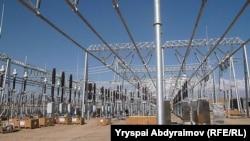 """""""Датқа"""" подстанциясы. Жалал-Абад облысы, Қырғызстан, 28 қазан 2012 жыл."""