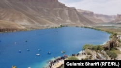 Afghanistan - Band-e-Amir (National Park of Afghanistan) and other touristic places opened for the visit of tourists in Bamyan province, July 12 2020 بند امیر ولایت بامیان