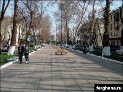 Улица Гагарина в Ташкенте. Фото «Ферганы».