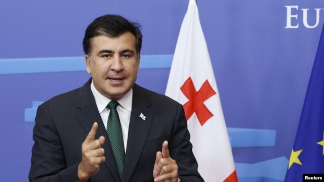 Georgian President Mikheil Saakashvili's final term ends later this year, and he has battled the new government's efforts to marginalize him.