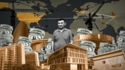 OCCRP - Illustration - A Real Estate Empire Built on Dark Money