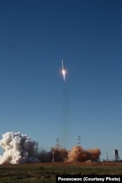 """Запуск """"Спектра-Р"""" на орбиту 18 июля 2011 года"""