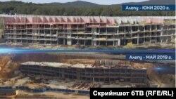 бТВ показват разликите между строежа през май 2019 г. и юни 2020 г.