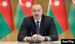 Әзербайжан президенті Ильхам Әлиев