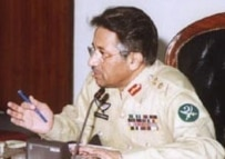 President Pervez Musharraf in his military uniform (CTK)