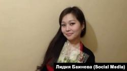 Жительница Хакасии Лидия Баинова, которую обвиняют в экстремизме из-за поста в социальной сети «ВКонтакте».