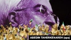 حامیان حسن روحانی در جریان کارزار انتخابات ریاستجمهوری