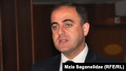 Georgian Dream is claiming that its candidate David Narmania (pictured0 has won the Tbilisi mayoral election outright