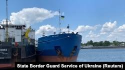 Zaplenjeni ruski tanker