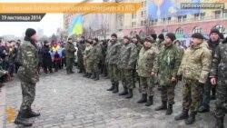 Півроку в зоні АТО – Харківський батальйон тероборони повернувся додому