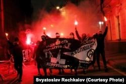 Несанкционированное шествие в Москве, 2017