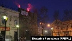 В Иркутске акция в память Анастасии Бабуровой и Станислава Маркелова, 19 января 2014