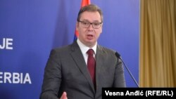 Is Serbia's Vucic playing politics with vaccines?