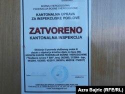 Obavještenje kantonalne inspekcije