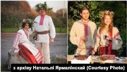 Беларускі шлюбны строй. З архіву Натальлі Ярмалінскай