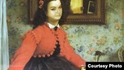 Uzun müddət Madam Bovari romanının üz qabığında bu portret çap olunub. Əslində isə Portret L.L. Young adlı xanıma məxsusdur və rəssam James Tissot tərəfindən çəkilib.