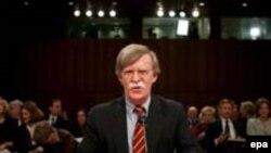 جان بولتون، نماینده سابق آمریکا در شورای امنیت سازمان ملل متحد.