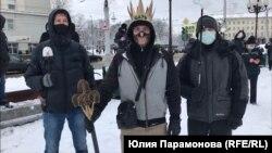 Протестующие в Калининграде