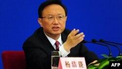 Министр иностранных дел Китая Ян Цзечи