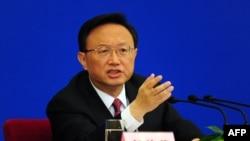 یانگ جیهچی، وزیر خارجه چین.