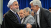 حسن روحانی؛رئیس جمهور در دیدار با محمدرضا عارف رییس فراکسیون امید (عکس آرشیوی است)