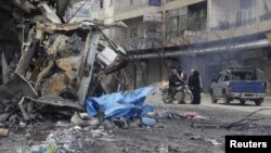 جبهه النصره، همراه گروههای دیگر، کنترل ادلب را در دست گرفته است