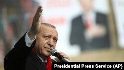 Recep Tayyip Erdogan Malatyada, 6 mart, 2019-cu il