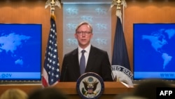 U.S. envoy Brian Hook is heading to the Persian Gulf region before traveling to Europe to discuss Iran.