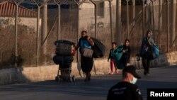 Հունաստան - Փախստականները Լեսբոս կղզում, սեպտեմբեր, 2020թ.