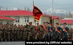 Военнослужащие Кыргызстана. Архивное фото.