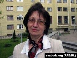 Валянціна Аліневіч, маці Ігара Аліневіча