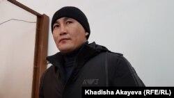 Этнический казах из Китая Кастер Мусаханулы в зале суда. Город Зайсан, Восточно-Казахстанская область. 6 января 2020 года.
