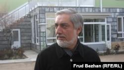Աֆղանստանի նախագահի թեկնածու, նախկին արտգործնախարար Աբդուլա Աբդուլա, ապրիլ, 2014թ․