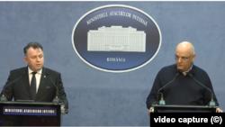 Conferința de presă a secretarului de stat în Ministerul Sănătății, Nelu Tătaru, și a șefului Departamentului pentru Situații de Urgență, Raed Arafat, privitoare la apariția a două noi cazuri de coronavirus în România: în Maramureș și Timișoara.