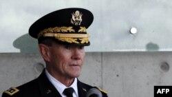 Глава Объединенного комитета начальников штабов вооруженных сил США генерал Мартин Демпси