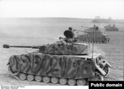 Модернизированный немецкий танк Pz. IV.