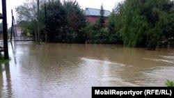 Masallı kəndləri sel suları altında