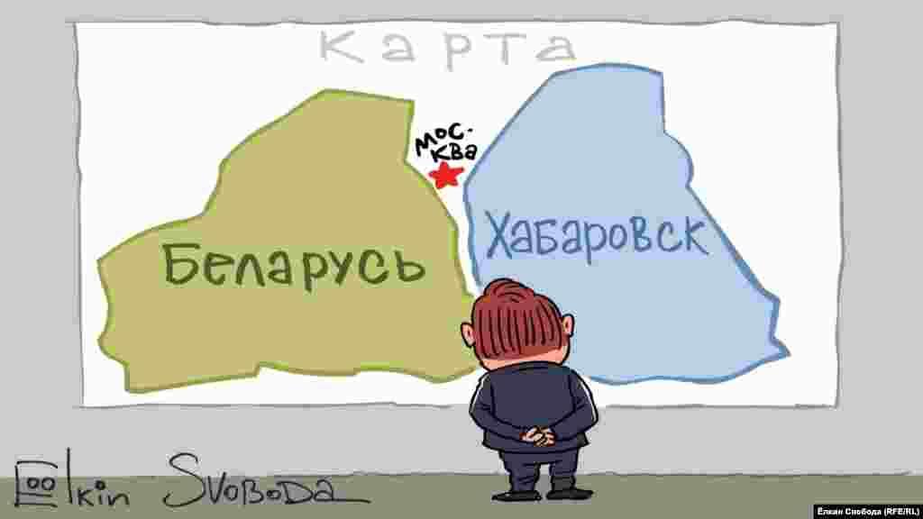 Карикатура російського художника Сергія Йолкіна. НА ЦЮ Ж ТЕМУ