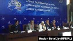 На экономическом форуме. Астана, 26 мая 2016 года.