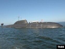 Российская атомная подлодка.