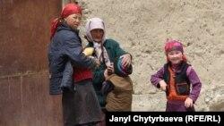 Мургабдагы кыргыздар.