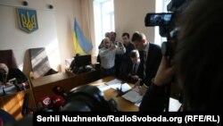 Мустафа Найєм на засіданні суду у справі Романа Насірова, 5 березня 2017 року