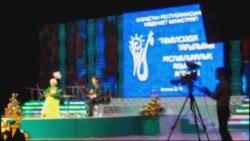 Министр Мұхтар Құл-Мұхаммед пен көрермендер