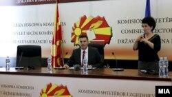 Адмир Шабани, портпарол на Државната изборна комисија