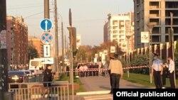Ирина Славина өзүн өрттөгөн жер. Нижный Новгород.