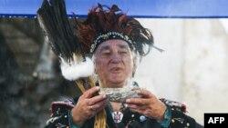 Один из вождей гуронов, Квебек