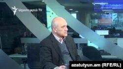 Խոսքի ազատության պաշտպանության կոմիտեի նախագահ Աշոտ Մելիքյանը «Ազատության» ստուդիայում: