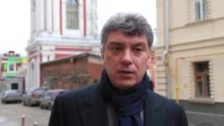 Борис Немцов об Украине и съезде в Харькове