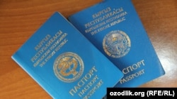 Национальные паспорта КР образца 2004 года